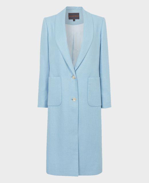 Really Wild Shawl Collar Coat  Main Image