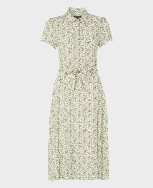 Really Wild Capped Sleeve Dress  Main Image