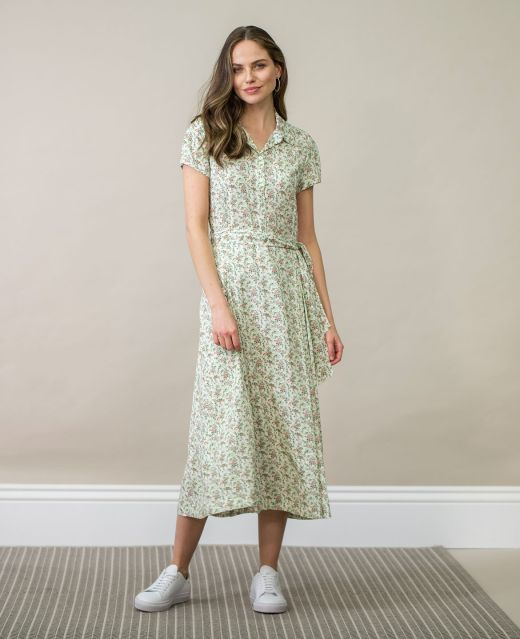 Really Wild Capped Sleeve Dress  Different Angle 1