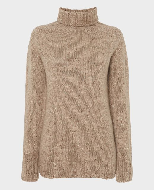 Really Wild Cashmere Mix Roll Neck  Main Image