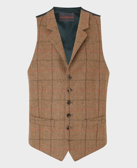 Really Wild Fitted Waistcoat Main Image