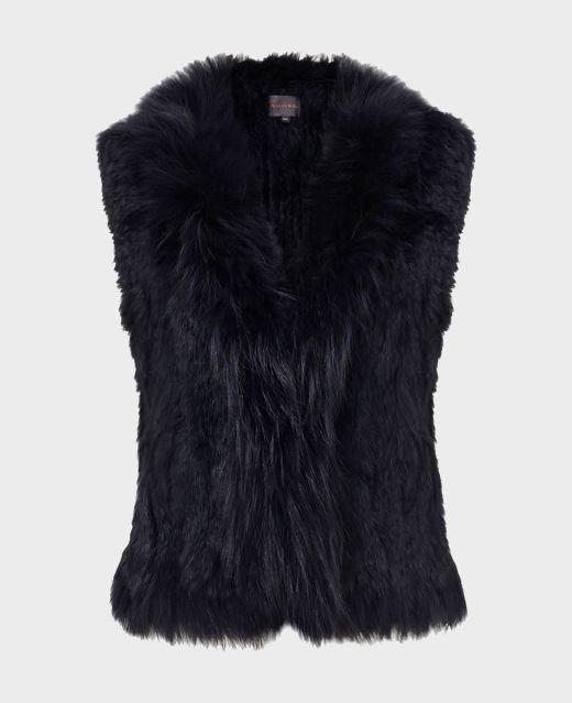 Really Wild Fur Gilet  Main Image
