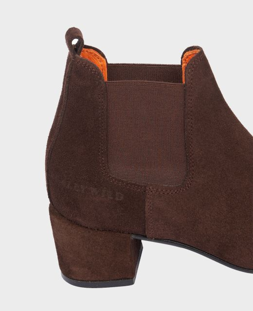 Really Wild Heeled Ankle Boot Different Angle 1