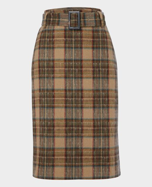 Really Wild Long Belted Skirt  Main Image