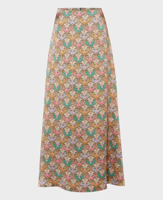 Really Wild Long Flared Skirt Main Image