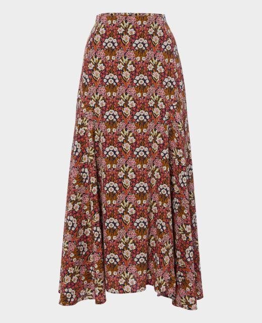 Really Wild Long Flippy Skirt  Main Image