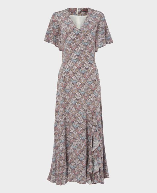 Really Wild Long Frill Dress  Main Image