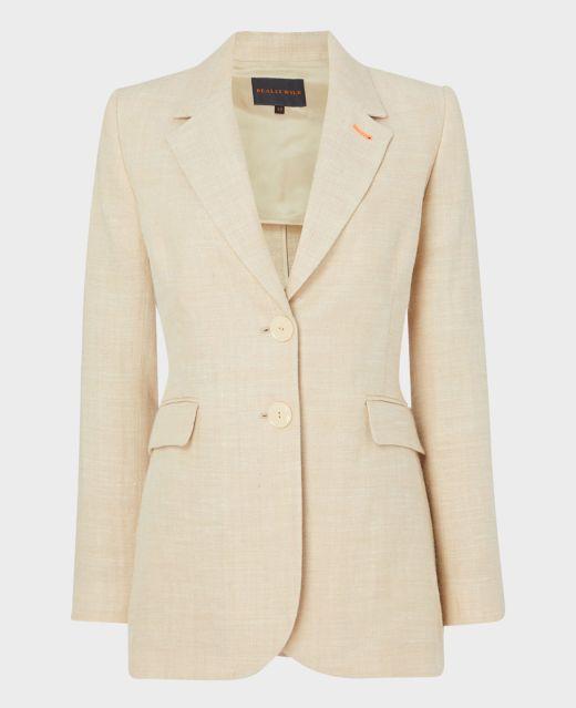 Really Wild Unlined Linen Jacket  Main Image