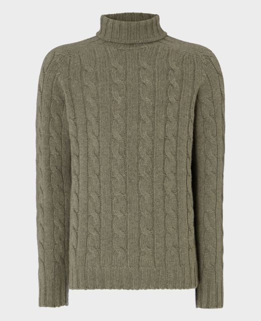Really Wild Cable Roll Neck Main Image