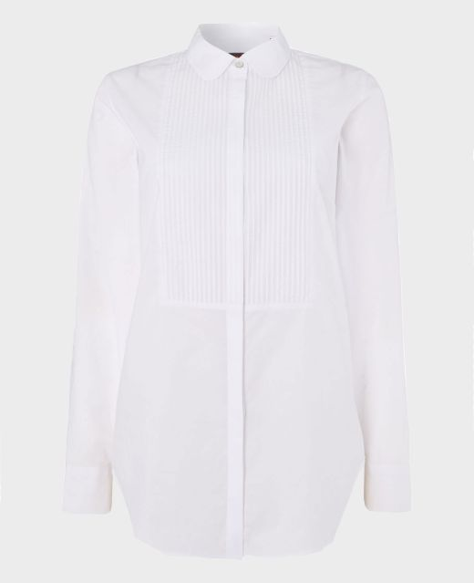 Really Wild Pleat Front Cotton Shirt Main Image