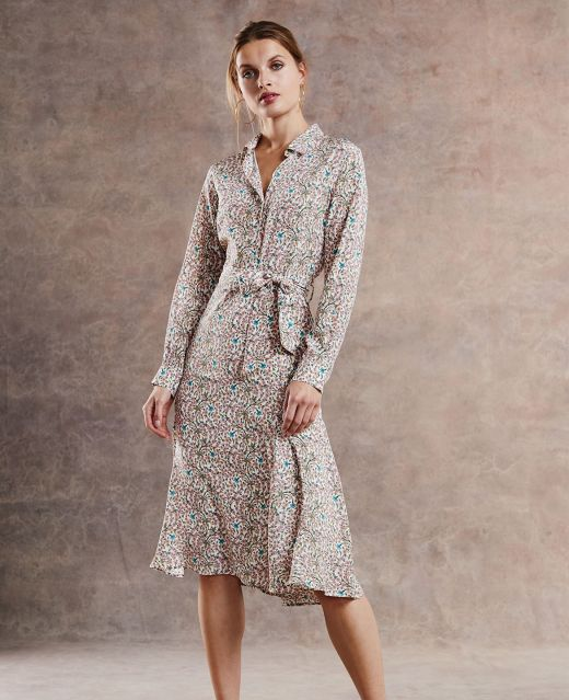 Really Wild Shirt Dress Different Angle 1