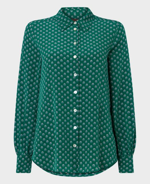Really Wild Shirt with Puff Sleeves  Main Image
