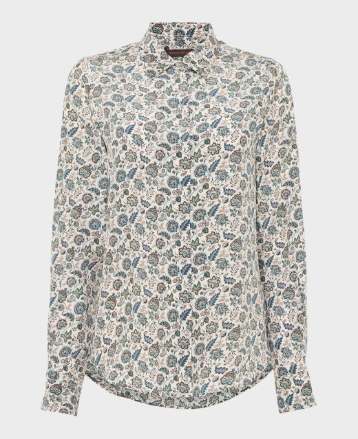 Really Wild Classic Collar Shirt Made with Liberty Fabric  Main Image