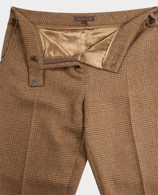 Really Wild Trousers with Ankle Zip  Different Angle 1